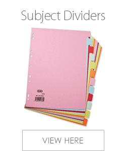 Elba Subject Dividers
