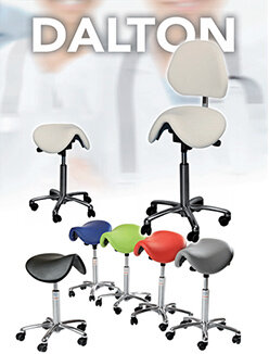 Dalton saddle Stools