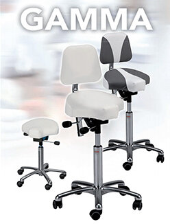 Gamma Saddle Stools