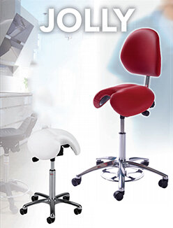 Jolly Saddle Stools