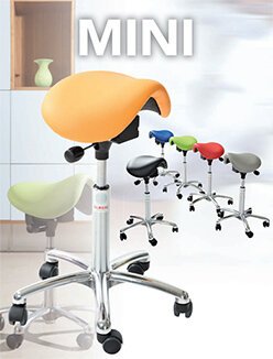 Mini Saddle Stools