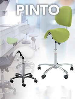 Pinto Saddle Stools