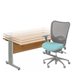 Sit only height adjustable desks