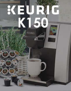 Keurig K150 Coffee Machine & FREE Starbucks & Barista Prima Coffee Pods + 4 Wire Rack + Biscuit Bars
