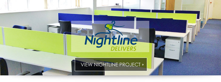 Nightline Delivers Office Fitout