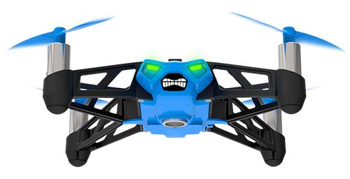Blue Parrot Drone