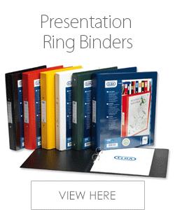 Elba Presentation Ring Binders