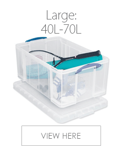 Large Plastic Storage Boxes Over 40L