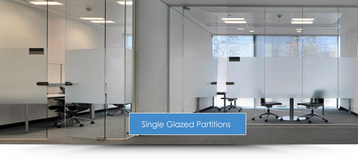 Single Glazed Partitions