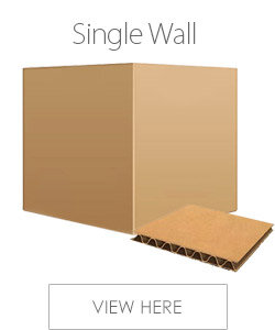 Single Wall Packing Cardboard Boxes