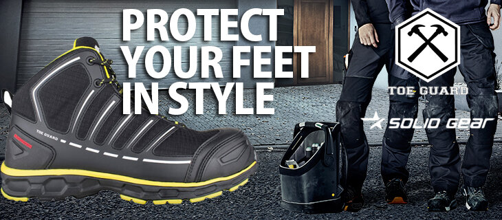solid gear & toe guard