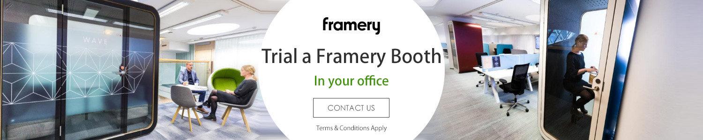 Trial a Framery Booth