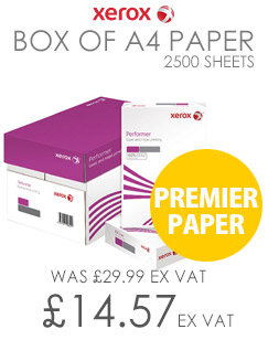 Xerox A4 Premier Paper 80gsm White 5 Reams In A Box 003R91720