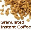 granulated instant coffee