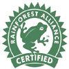 rain forest certified logo
