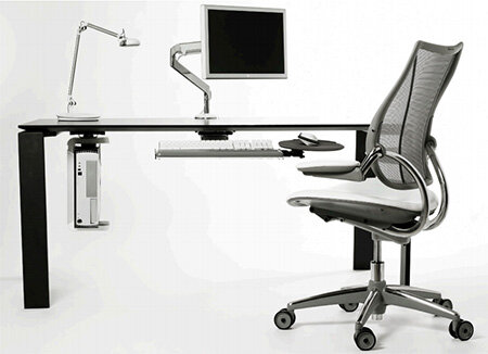 Humanscale Cpu200 Under Desk Cpu Holder Black Huntoffice