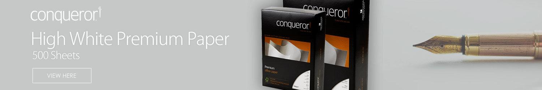 Conqueror Store Banner