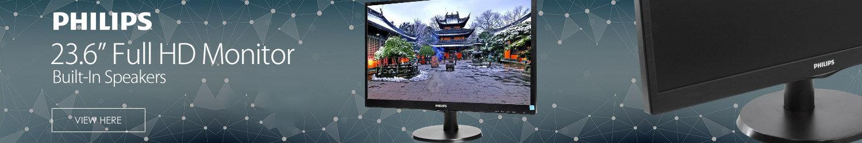Philips V-line 243V5LHAB - LED Computer Monitor - 23.6