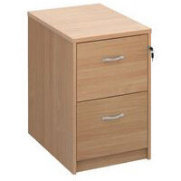 2 Drawer Wooden Filing Cabinets
