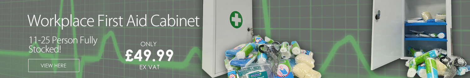 Fully Stocked First Aid Cabinet