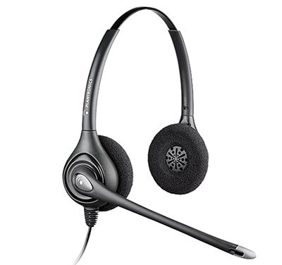 Plantronics HW261N Binaural Noise Cancelling Headset