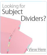 Subject Dividers