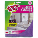 Scotch-Brite Dusting Cloth Ref GN030122008 [Pack 2]